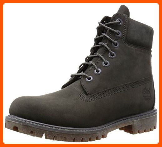 a8db52d671 Timberland Mens 6-Inch Premium Boots A114K Grey UK10 Grey - Mens world (* Amazon Partner-Link)