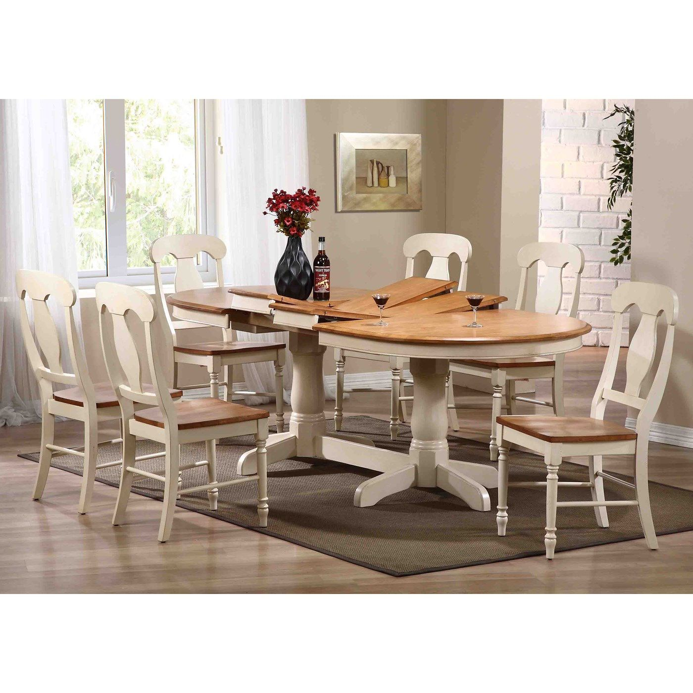 Iconic Furniture Ov 90 Oval Double Butterfly Leaf Table Oval