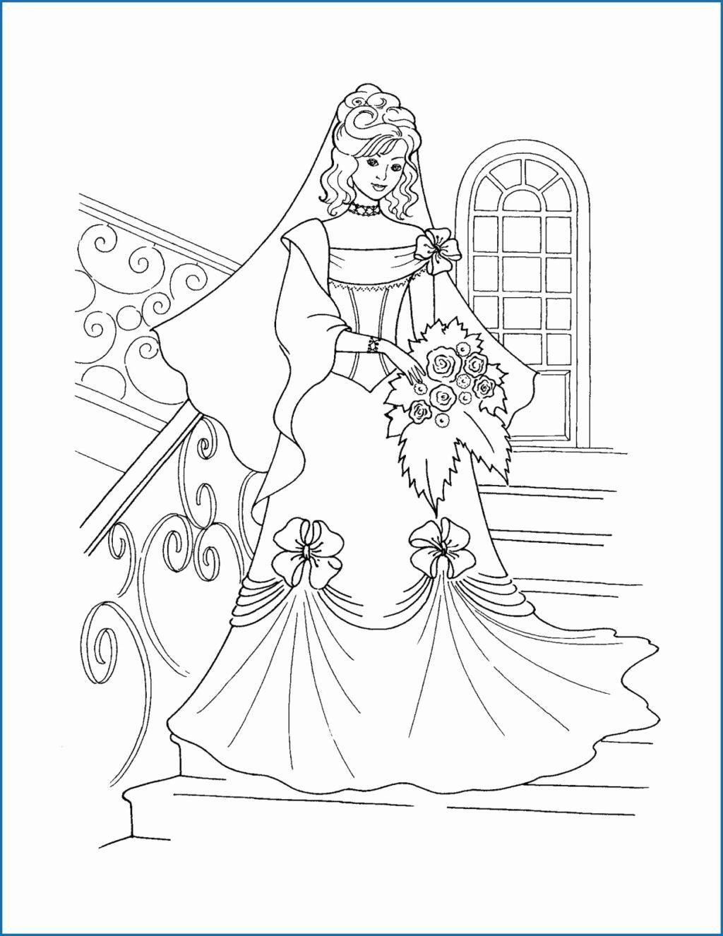 Coloring Dress Design Elegant Princess Coloring Pages To Print Best 10 Barbie Out Disney Princess Coloring Pages Princess Coloring Pages Wedding Coloring Pages