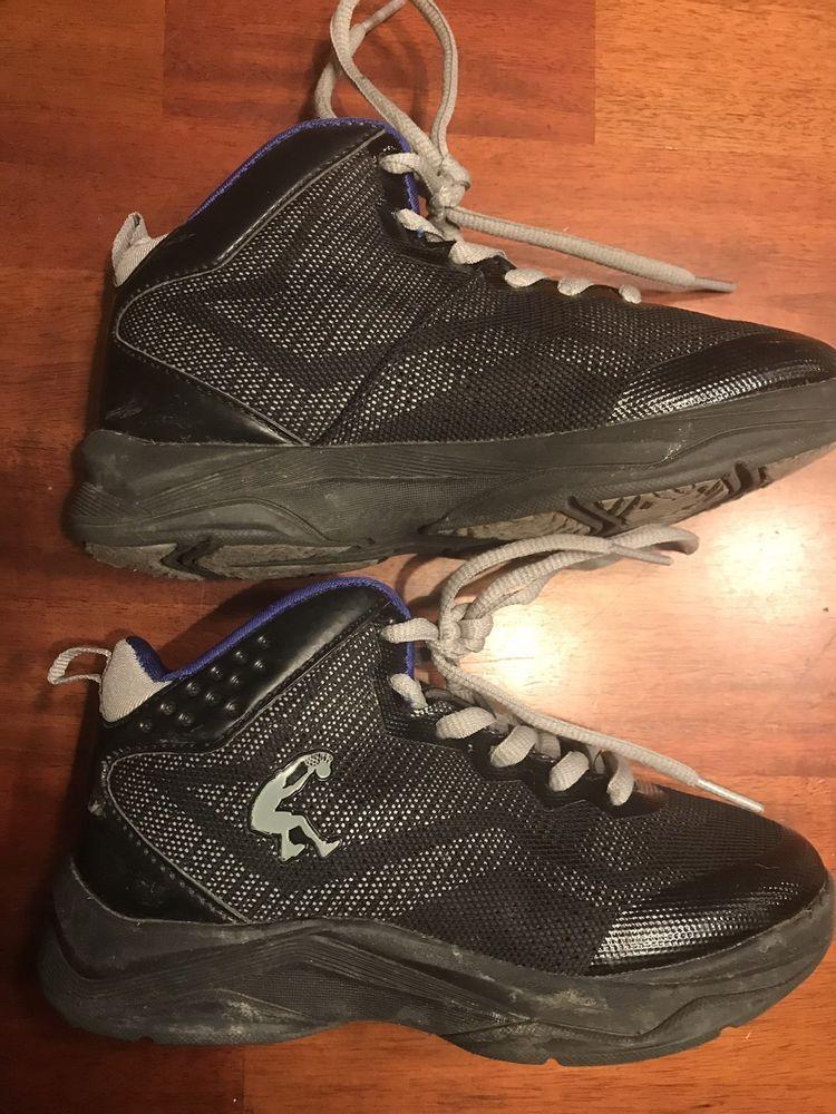 33d55c3c8297 Boys Size 13 Black blue Shaq High Top Sneakers  fashion  clothing  shoes   accessories  kidsclothingshoesaccs  boysshoes (ebay link)
