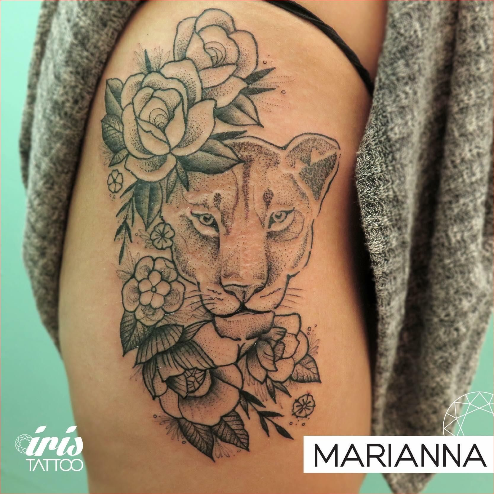 Luxury 15 Lion Hip Tattoo, Check Right Now Lioness