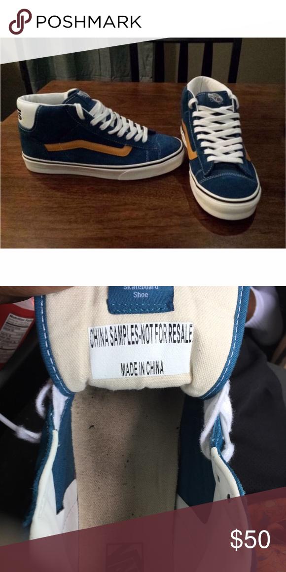 9706a6f803 Vans. Men s size 9 women size 10.5 Brand new only worn twice. Sample shoe