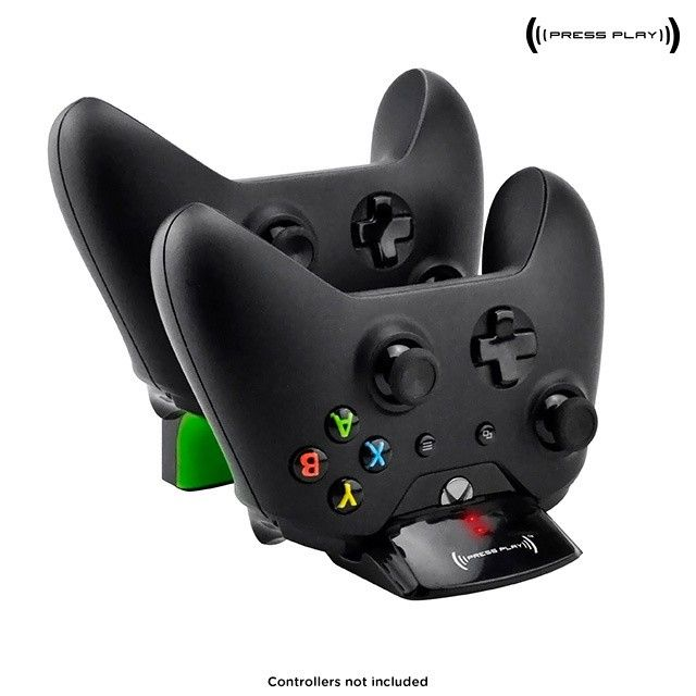 Press Play Dual Wireless Charging Dock for Xbox One