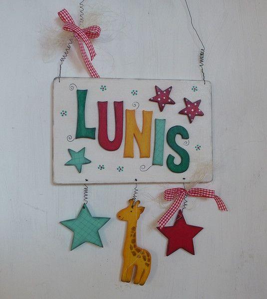 Tür & Namensschilder Kindertürschild {Bestellartikel