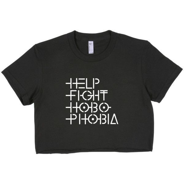 Fight Hobophobia Crop Top