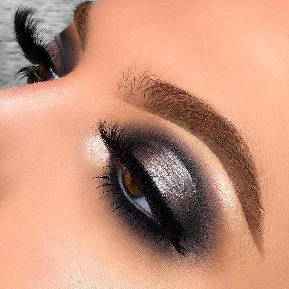 Fascinating Grey Eye Makeup Style 2019 Grey eye makeup