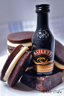 Oh Cake: Chocolate Stout & Baileys Buttercream Whoopie Pies
