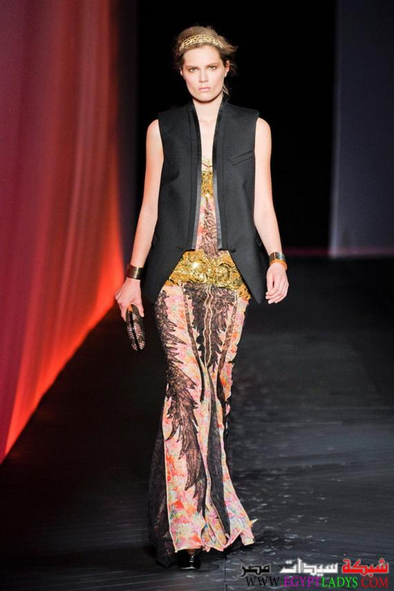 احدث موديلات 2020 ازياء 2020 مجموعة روبرتو كافالي لعام 2020 Roberto Cavalli Collection For 2020 27967 Imgcache Jpg Fashion Lady Saree