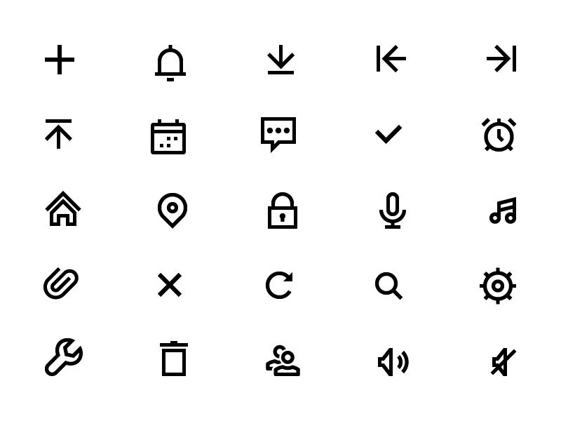 Apple Watch Icons Icon Design Inspiration Best Icons Icon Set Design