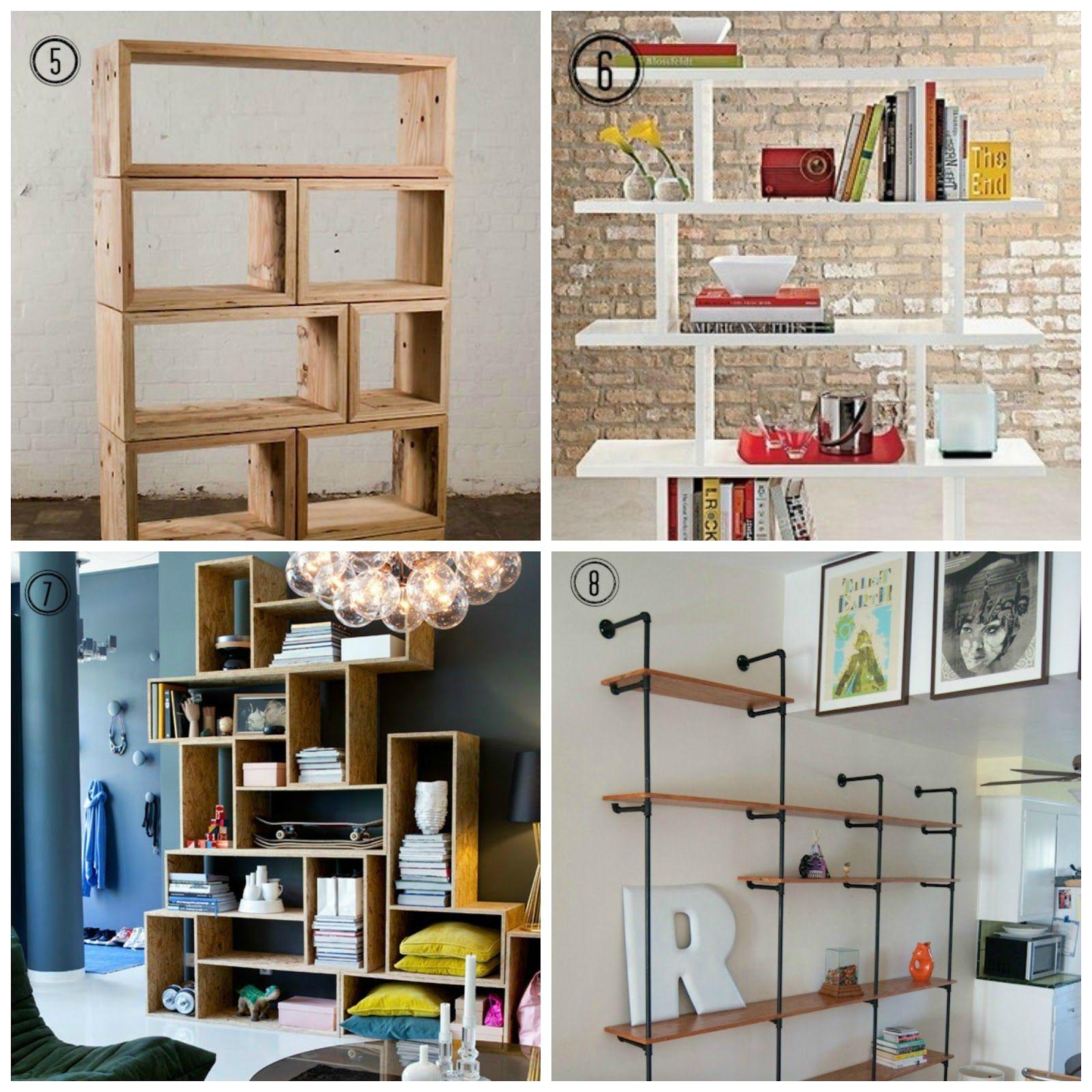 Design Tendencies 8 DIY Shelf Ideas