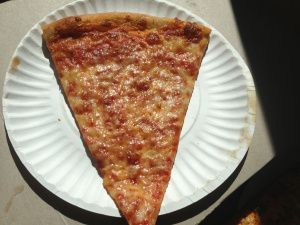 Couch Tomato Cafe Manayunk Pa Cheese Slice Pizza Review