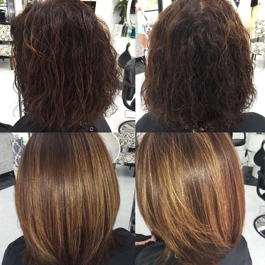 Before and After Keratin Treatment.. Global Keratin See this