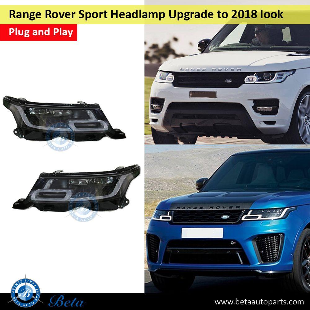 Range Rover Sport Headlamp Upgrade To 2018 Look Range Rover Sport Range Rover Sports