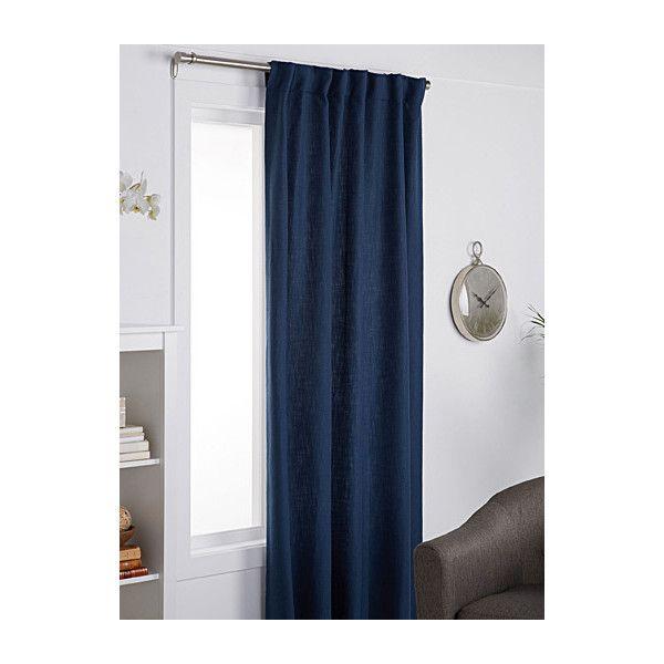 Simons Maison Chevron Woven Curtain 130 X 220 Cm 57 Liked On