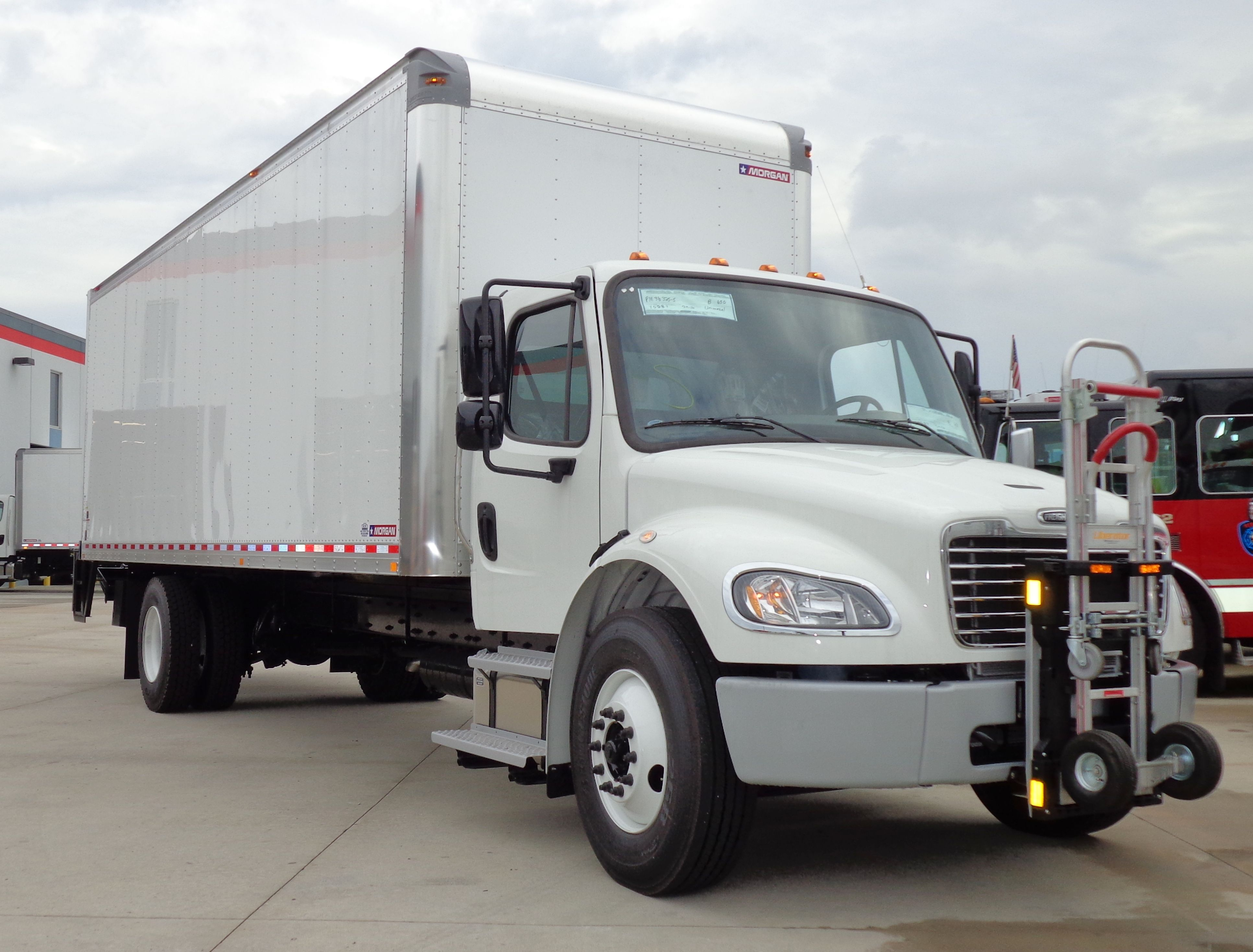 Freightliner M2 Delivery Truck With Morgan Truck Body And Hts