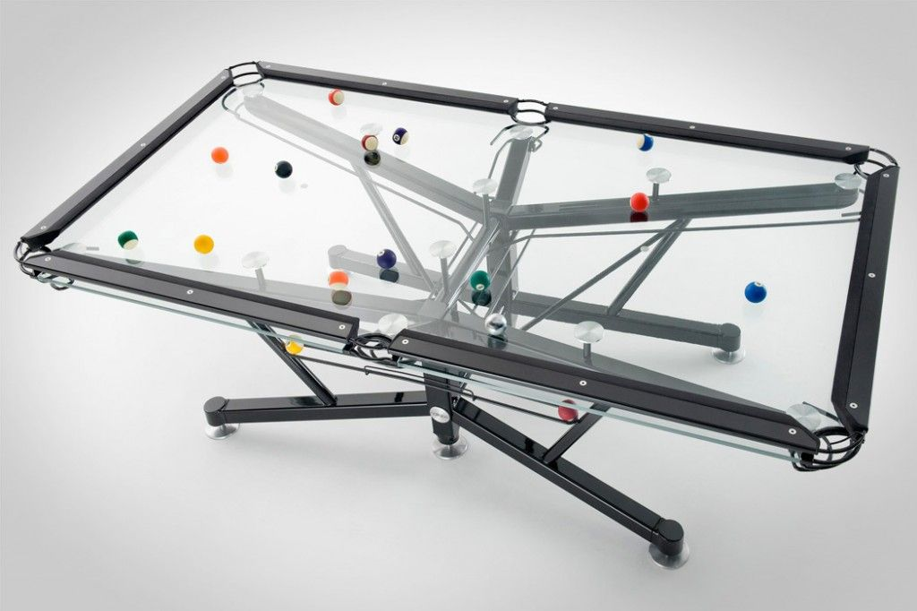 NOTTAGE DESIGN G-1 POOL TABLE
