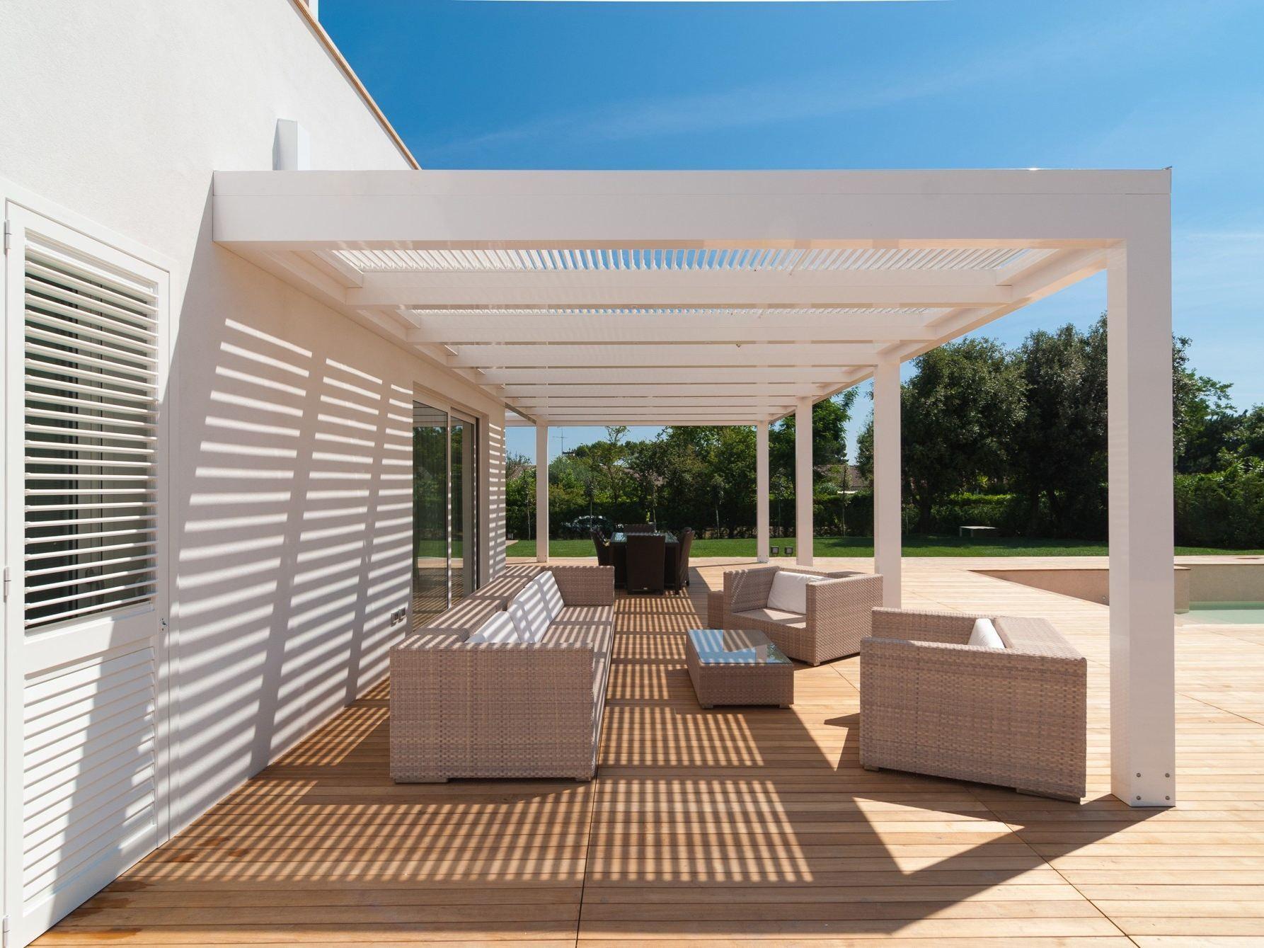tarif pergola biossun excellent combinaison pergola et. Black Bedroom Furniture Sets. Home Design Ideas