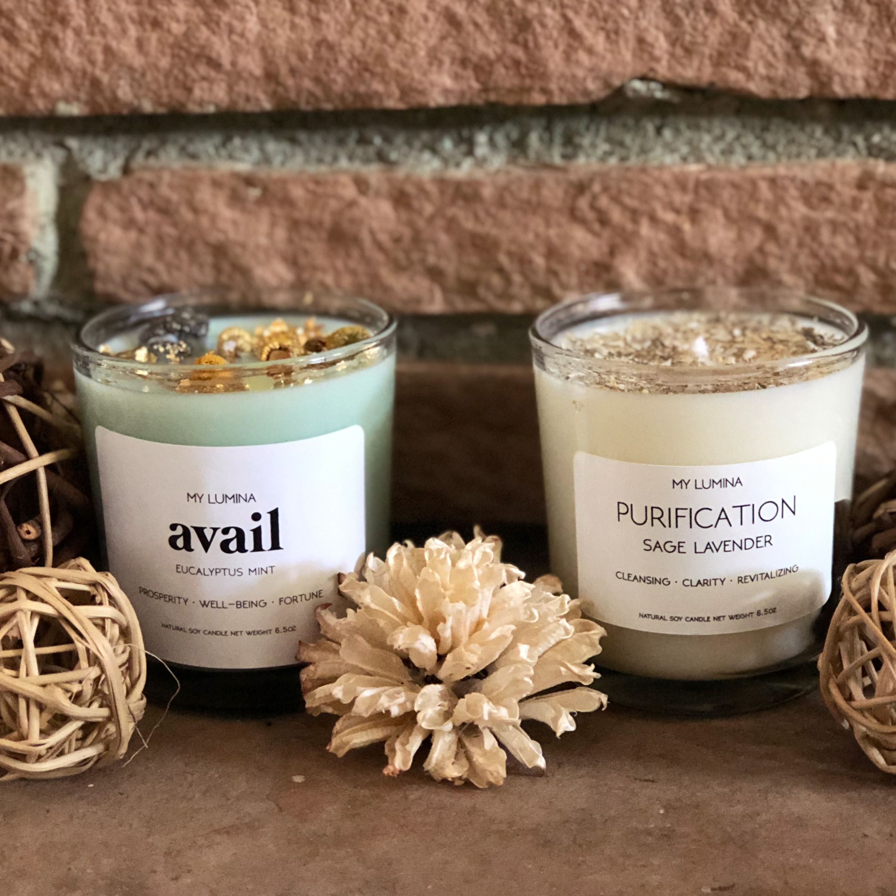 Eucalyptus Candle/Eucalyptus Mint soy wax Candle/Homemade Candle/Sinus Relief