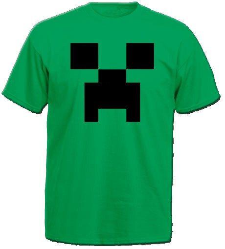 Printable Minecraft Creeper Tshirt Diy Ironon By Justprintit