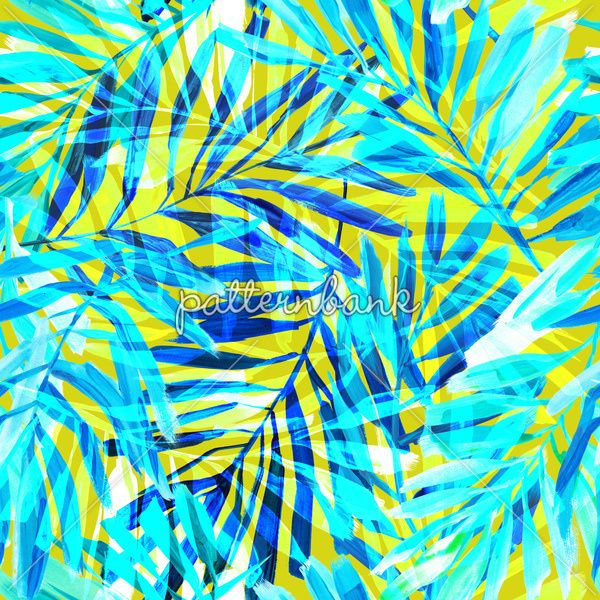 Bright Tropical Vibes Pattern