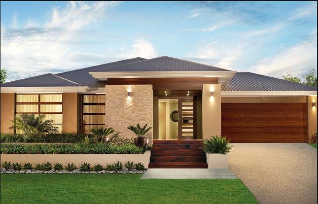 House Design Single Story In 2020 Facade House Contemporary