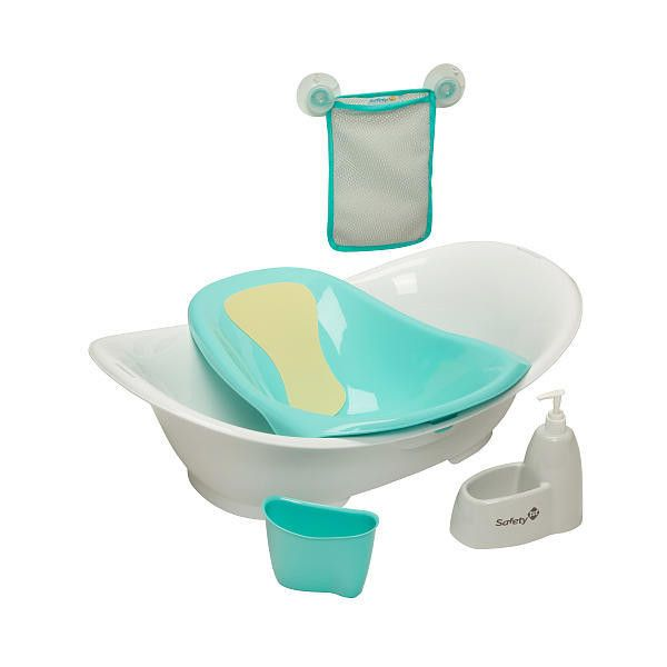 Safety 1st Custom Care Modular Bathing Solution Safety 1st ($35) ❤ liked on Polyvore featuring babies