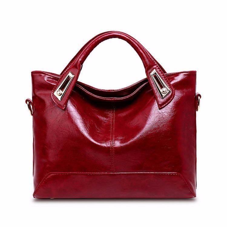 Women Vintage Shoulder Bags Handbags In 2020 Leather Handbags Tote Leather Crossbody Bag Shoulder Handbags