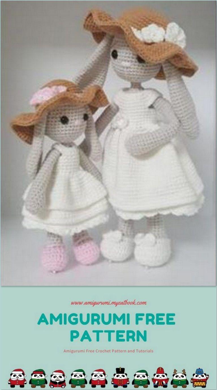 Photo of Amigurumi Mother and Daughter Free Pattern – amigurumi.myeatbo…
