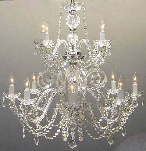 A46 38584 murano venetian style chandelier chandeliers crystal a46 38584 murano venetian style chandelier chandeliers crystal chandelier aloadofball Image collections