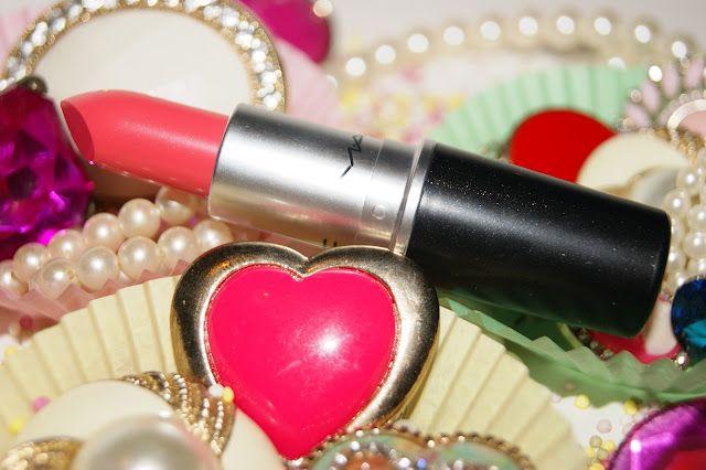 Mac Watch Me Simmer Lipstick Review