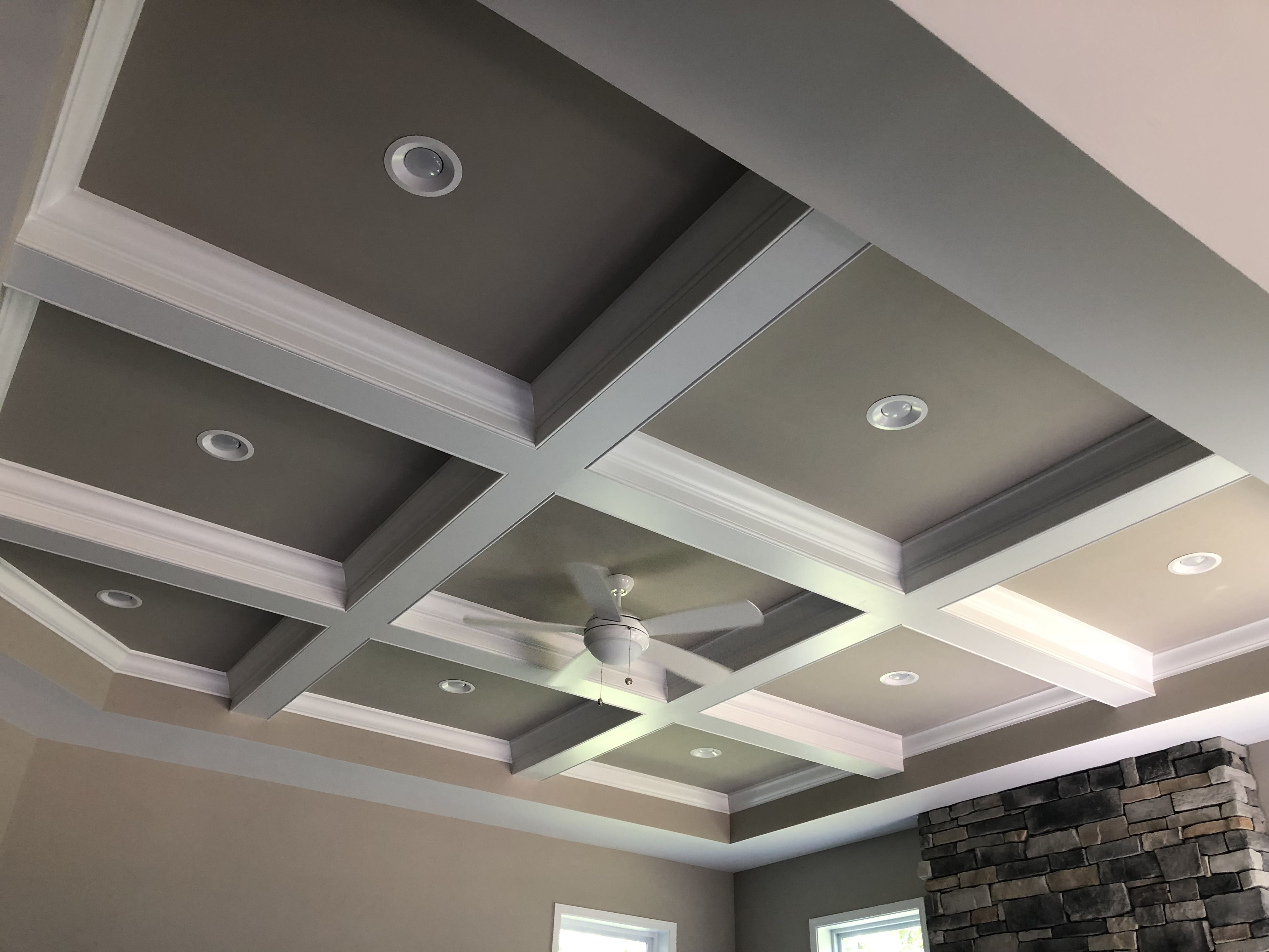 Crown Molding And Recessed Lighting