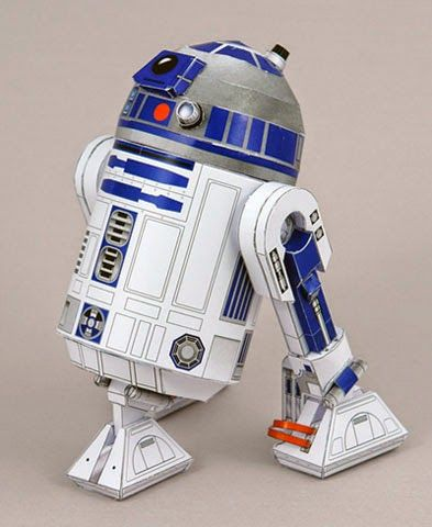 Descargable De R2 D2 De Star Wars Para Maqueta 3d R2 D2 And Origami
