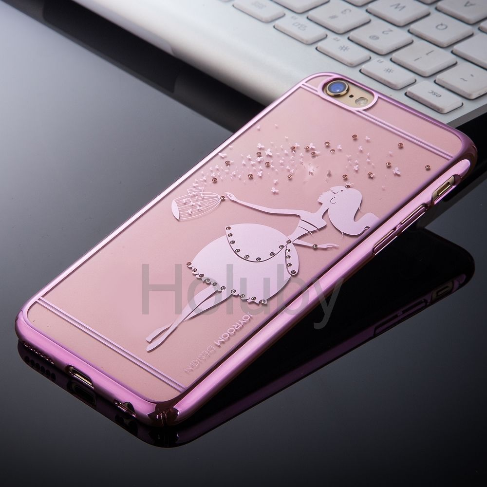 JOYROOM Diamond Electroplated PC Hard Case For IPhone 6S Plus 6