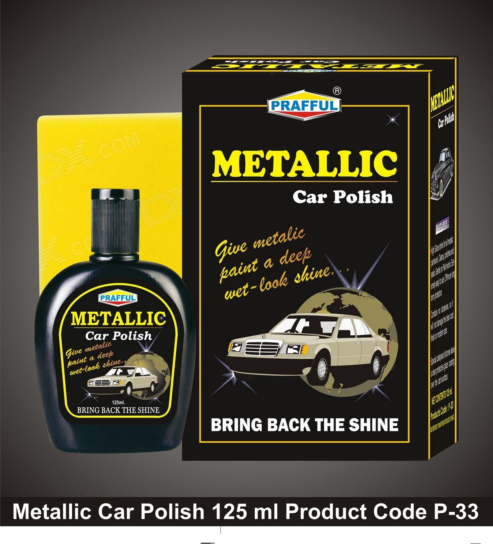 Metallic car Polish P33 Metallic Car Polish is specially