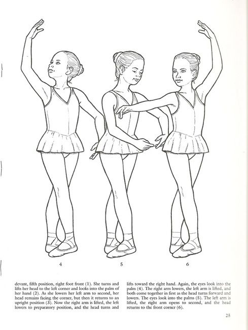 Ballet Class Coloring Pages All About Pointe Desenhos De Ballet