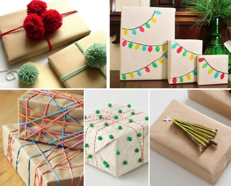 Kleine Geschenke kreativ verpacken - 20 Ideen zum Basteln   Basteln ...