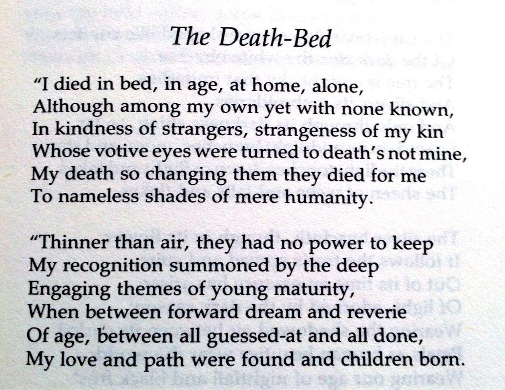 Prachtige Engelse Gedichten Op The Borely Hotel Gedicht Dood