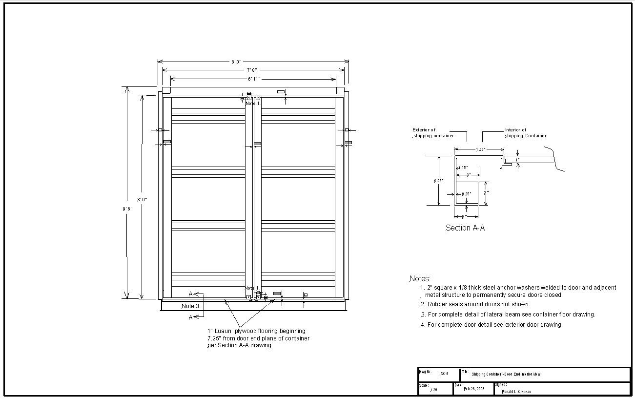 Best Kitchen Gallery: Container Doors Google Zoeken Graphics Pinterest of Shipping Container Cad Drawing on rachelxblog.com