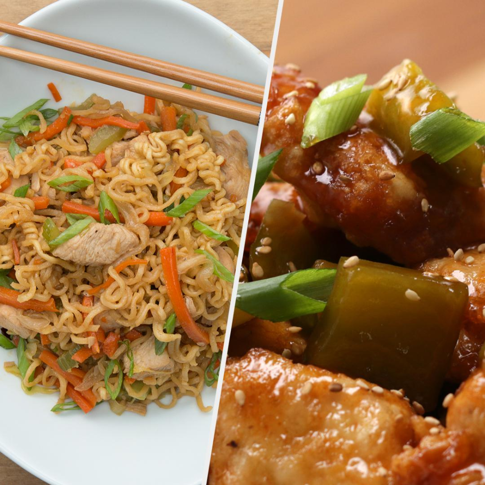 5 Chinese Inspired Takeout Dishes Recipes Asian Recipes Chicken Recipes Chinese Cooking