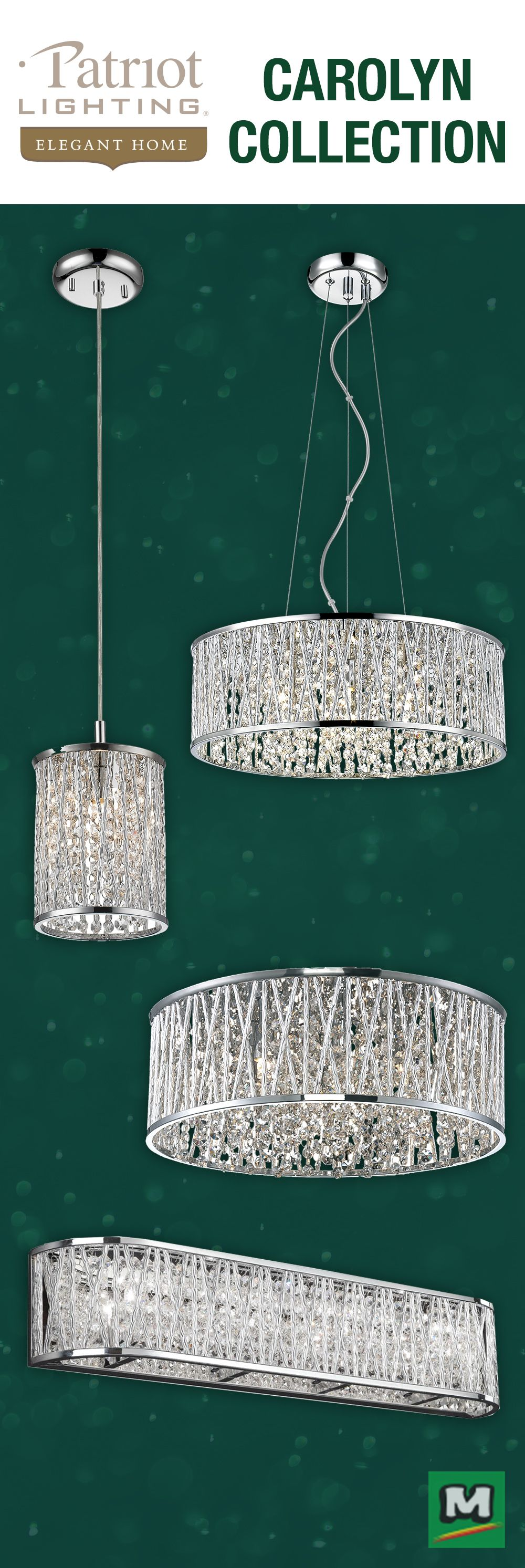 Add modern glamour to your home décor with Lighting Fixtures from ...