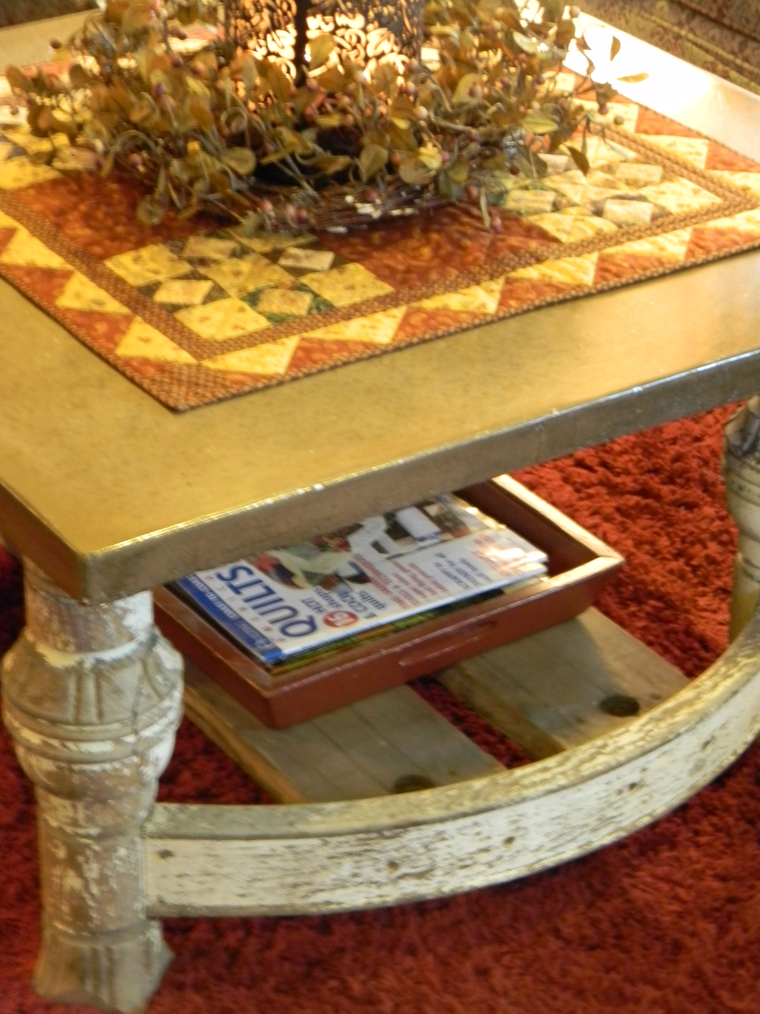 My Husband Made This Awesome Coffee Table For Me Out Of His New