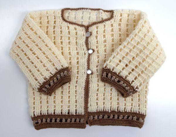 Sonhos de Bebê Crochet  Casaquinho  4974f032578
