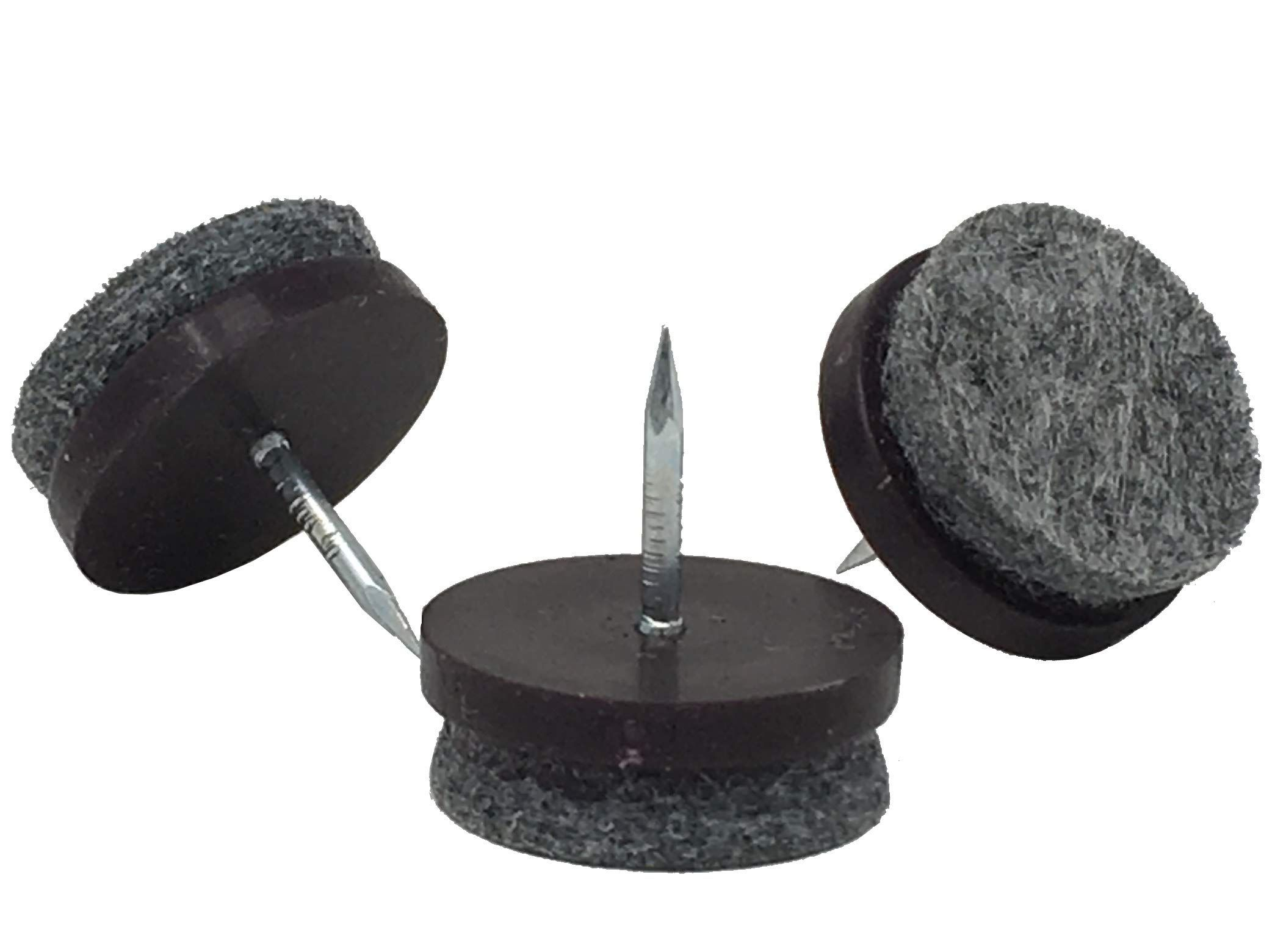 D H S 7 8 Dia Heavy Duty Felt Nail On Slider Glide Pads For Chairs Stools Tables Furniture Slides L Furniture Pads Furniture Sliders Felt Furniture Pads