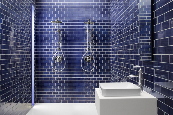 cobalt blue bathroom tile cobalt blue subway tile shower blue subway 17787