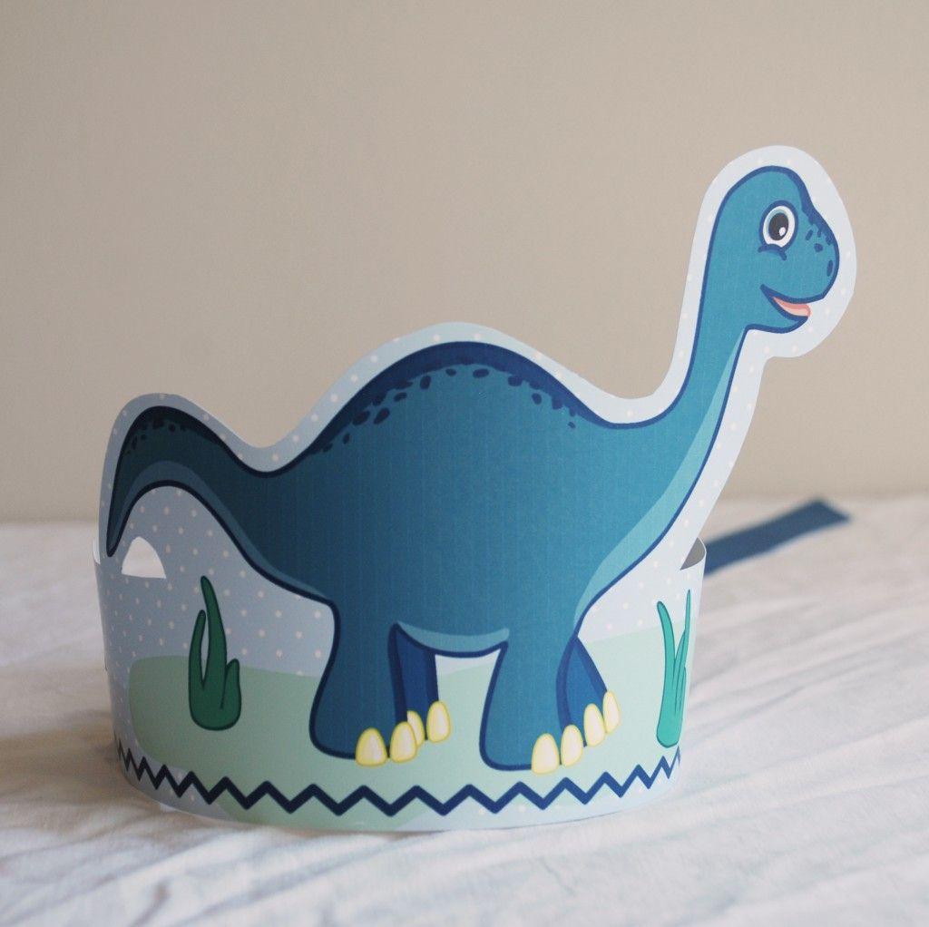 Dinosaurpartycrown
