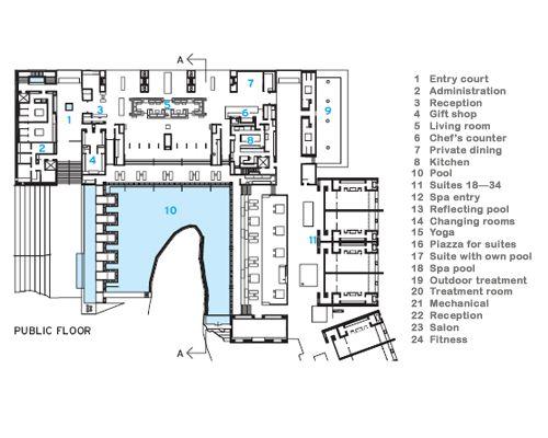 Amangiri resort resort plan amangiri resort hotel for Design hotel utah