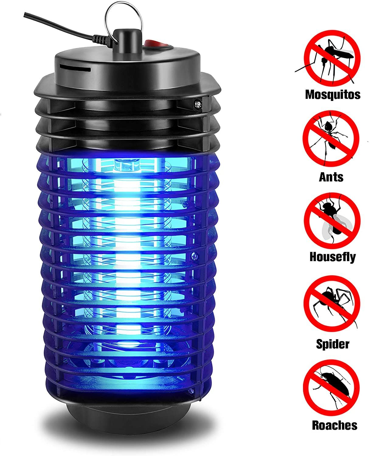 Xmstore Bug Zapper Portable Standing Or Hanging Zapper For Indoor Use Bug Zappers Bug Zapper Powerade Bottle