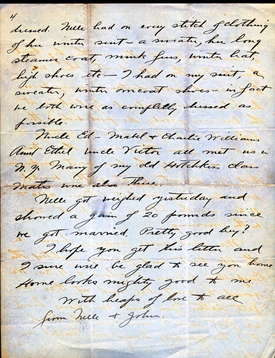 Letter from the Titanic 4/4