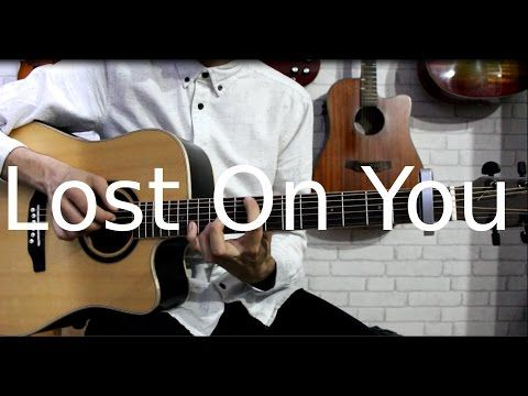 Lp Lost On You Fingerstyle Guitar Cover With Tabs Youtube Fingerstyle Guitar Guitar Lost