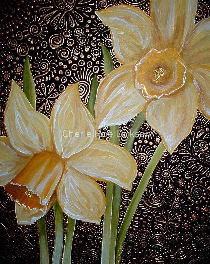 Daffodils by Cherie Roe Dirksen